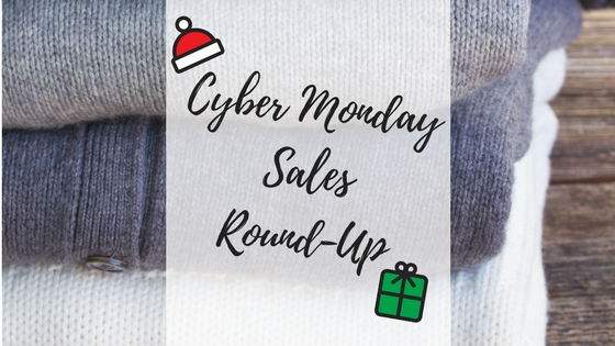 CYBER MONDAY SALES ROUND-UP