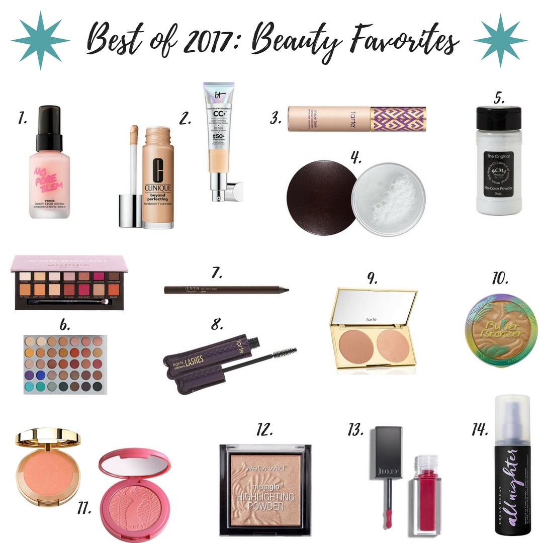 BEST OF 2017: BEAUTY EDITION