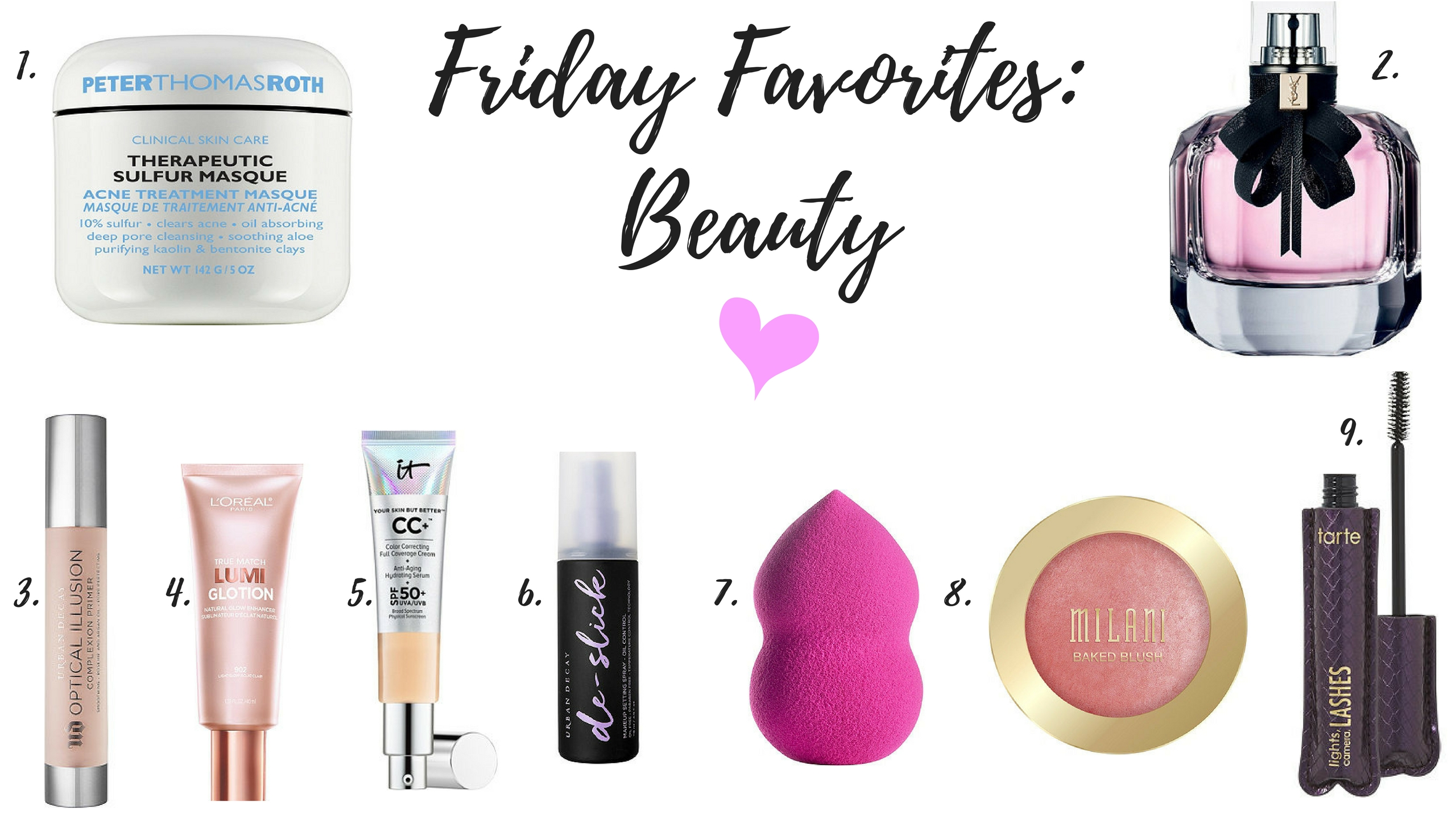 FRIDAY FAVORITES & HATE-ITS