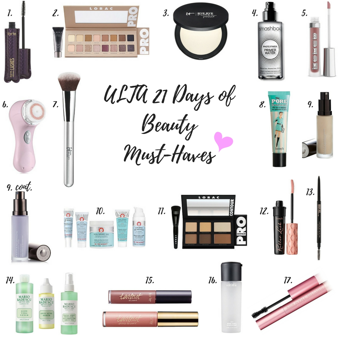 ULTA 21 DAYS OF BEAUTY MUST-HAVES