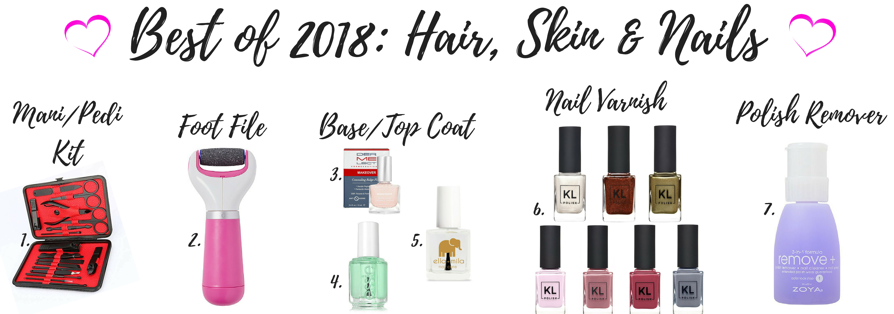 BEST OF 2018: HAIR, SKIN & NAILS