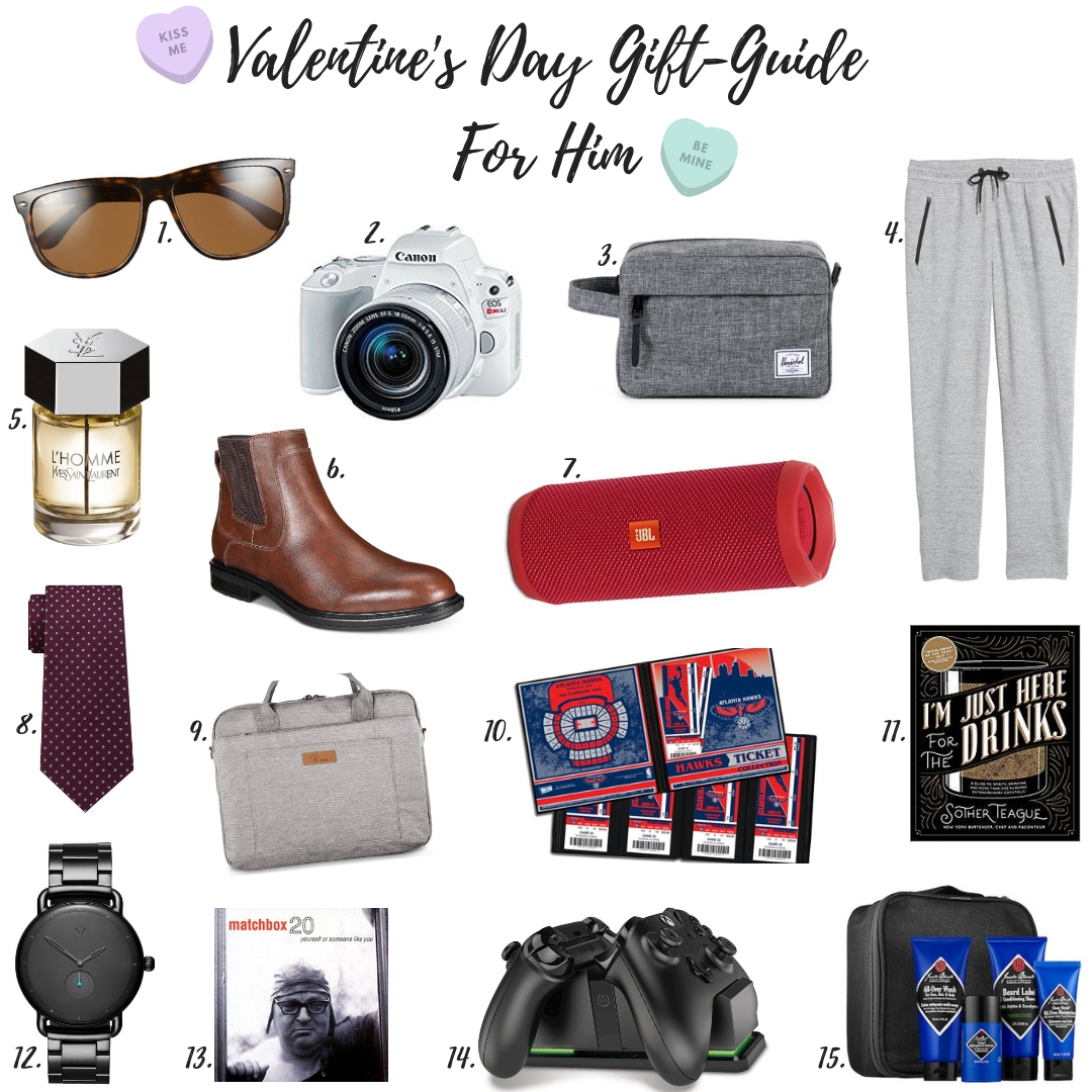 VALENTINE'S DAY GIFT-GUIDE (FOR HIM)