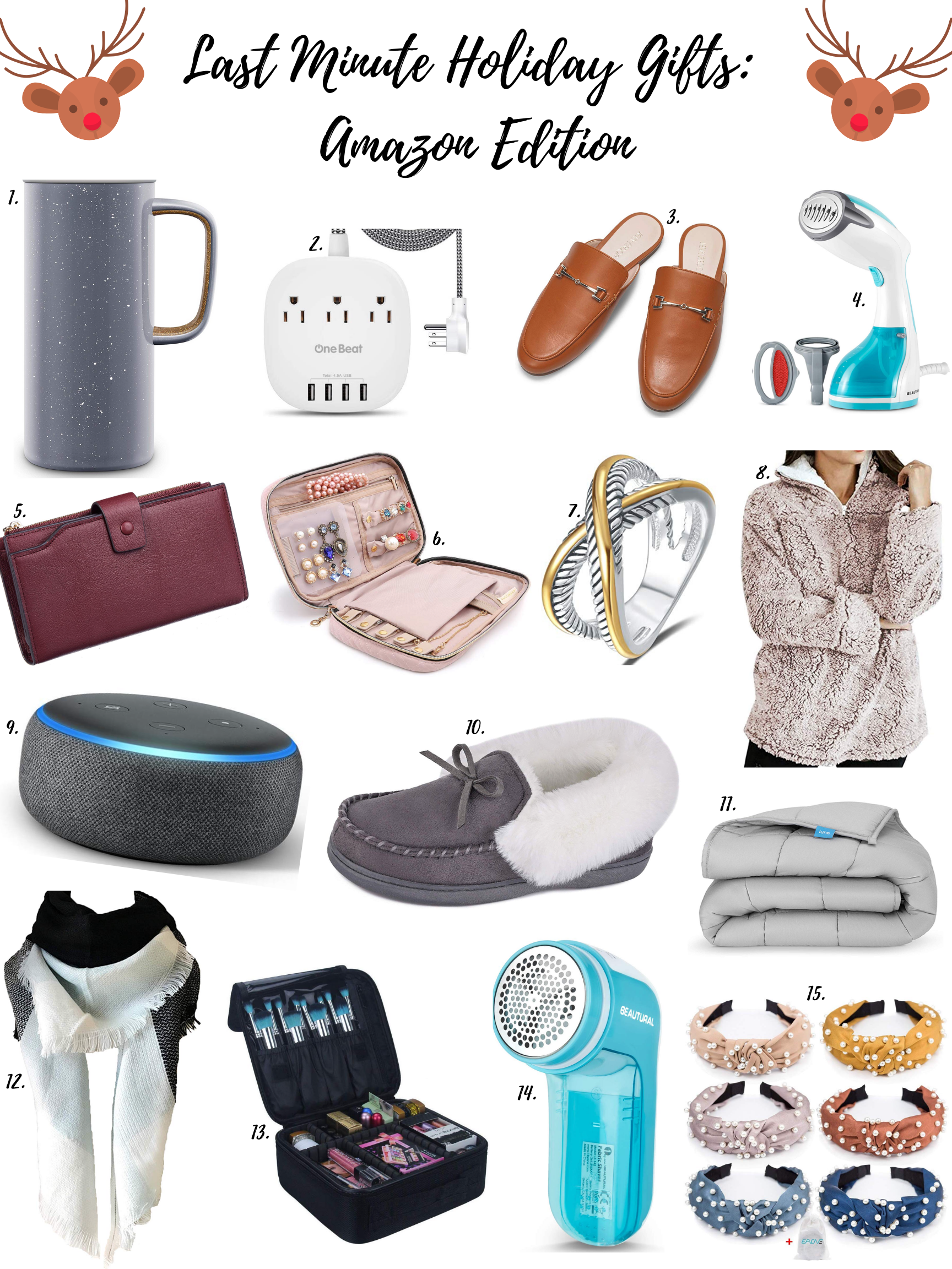 LAST MINUTE CHRISTMAS GIFTS: AMAZON EDITION