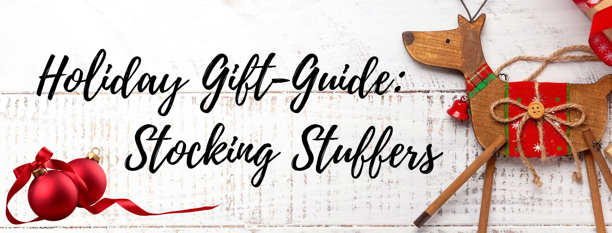 HOLIDAY GIFT-GUIDE: STOCKING STUFFERS